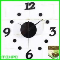 Jam Dinding DIY 30-50cm Diameter 06