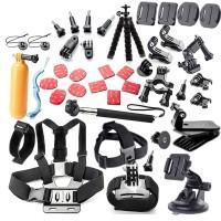 Paket lengkap fullset Aksesoris Kamera Aksi Full Set ACTION CAM gopro