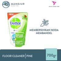 Dettol Multi Action Floor Cleaner Pine 700 ML - Pembersih Lantai