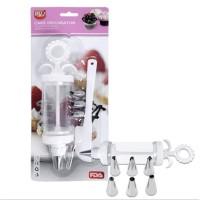 Cake Spuit Decorating Pen Set Alat Hias Dispenser Pen Dekorasi Kue