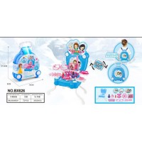 Edisi Frozen Mainan Anak Perempuan Frozen Portable Dresser