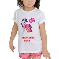kaos Baju Tshirt Anak Custom Little pony / little pony LP004