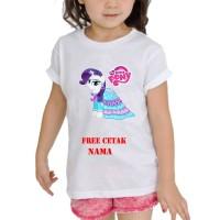 kaos Baju Tshirt Anak Custom Little pony / little pony LP005