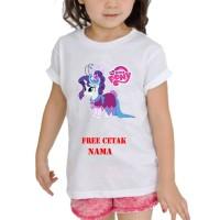 kaos Baju Tshirt Anak Custom Little pony / little pony LP002
