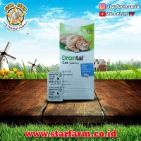 Drontal Cat Obat Cacing Kucing Kaplet Satuan - Star Farm