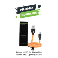 Baterai Hippo Iphone 5s 1560 mAh Original Garansi Resmi