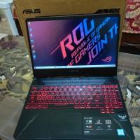 Laptop Asus TUF Gaming FX505G Core i7 8750H RAM 8GB Nvidia GTX1050 4GB