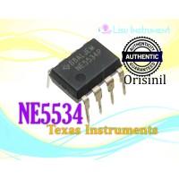 ORIGINAL NE5534P NE5534 5534 Operational Amplifier DIP-8 Texas Instrum