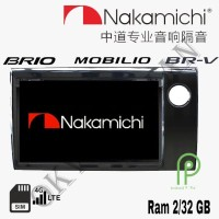 Nakamichi Android 9 inch 4G WIFI OEM Brio BRV Mobilio Head Unit