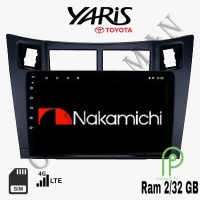 Nakamichi Android 9 inch 4G WIFI Bluetooth OEM Toyota Yaris Old Head U