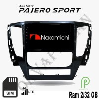 Nakamichi Android 9 inch 4G WiIFI Bluetooth OEM Pajero Sport Head Unit