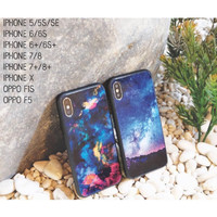 INFINITY CASE - Glass Softcase - IPhone 5/5S/SE, 6/6S, 6+/6S+, 7/8, 7+