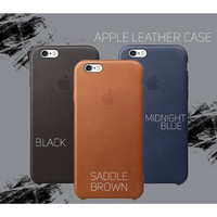 Apple Leather Original Case - for iphone 5/5s/SE, 6/6s, 6+/6s+, 7, 7+,