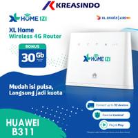 Huawei B311 Modem Home Router Wifi 4G Huawei Free XL Go IZI 30GB