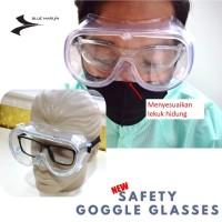 MEDICAL GOGGLES - SAFETY GOGGLES GLASSES - KACAMATA SAFETY MEDIS