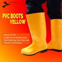 BLUMAR PVC MEDICAL BOOTS YELLOW