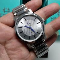 jam tangan Hegner HW 433G silver Original