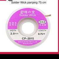 SOLDER GOOTWICK CP-2015 0.2CM (WIDTH 2.0MM , LENGTH 1.5M X 1.5M ORI