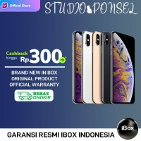 APPLE iPhone XS MAX 64GB 64 GB DUAL SIM Garansi 1 Tahun