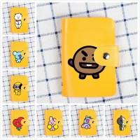 KPOP BTS x BT21 Card Holder Wallet Dompet Kartu