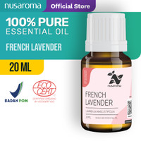 Nusaroma French Lavender Essential Oil - 20 ML