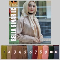 Jilbab / Hijab / Kerudung terbaru bella sinar by azara
