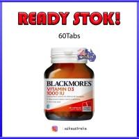 BLACKMORES VITAMIN D3 1000iu 60 Capsule AUSTRALIA