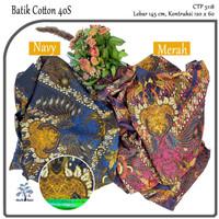 MUKA IG bahan kain cotton katun batik kemeja murah per 50 yard cat 3