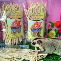 Fish Snack Sugar Glider / Hamster / Snack Hewan / Cemilan Hewan