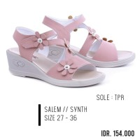 Sandal Anak Perempuan / Wedges Kids Size 27-36 Party Garzee Pink Salem