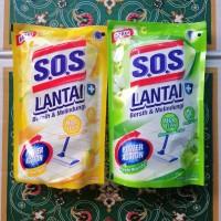 SOS PEMBERSIH LANTAI LEMON DAN APLE 375ML