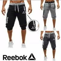 Celana Jogger Pendek Joger Training Reebok Size M L XL XXL 3XL 4XL 5XL