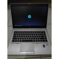 Laptop HP CORE i7 SSD RAM 8GB EliteBook FOLIO Intel Bonus Tas BARU