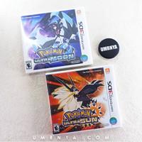 Paket Pokemon Ultra Moon & SUN Nintendo NEW 3DS DS Ultrasun Ultramoon