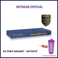 Netgear GS724TP 24 Port Gigabit Ethernet PoE Smart Managed Pro Switc