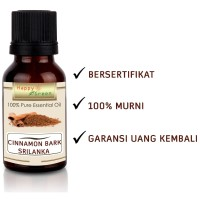 Happy Green Srilanka Cinnamon Bark Essential Oil (10 ml) Murni Natural