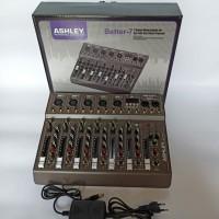 mixer audio ashley bettel 7 original 7chanel usb bluetooth