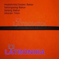 Heatshrink 7mm Heat Shrink Tube 7 mm Selongsong Isolasi Bakar Susut