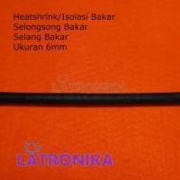 Heatshrink 6mm Heat Shrink Tube 6 mm Selongsong Isolasi Bakar Susut