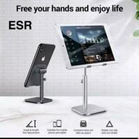 ESR Desk Phone Holder Ipad Tablet Stand Holder Universal Silver