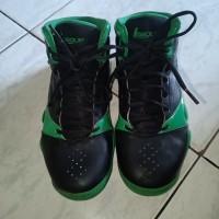 Sepatu Olahraga League Wanita ORI 100% | Warna Hitam-Hijau | Size 39