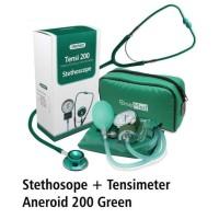 Tensimeter Aneroid 200 & stetoscope Gray