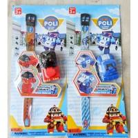 Jam Tangan Anak Robocar Poli Robot 5012B