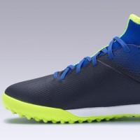 Kipsta Sepatu Futsal Sintetis Anak Agility 500 Jr Mid Hg Blue Blue DCT