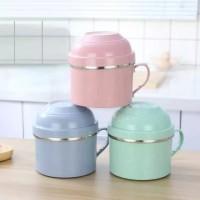 Buy1GET1 Lunch Mug Motif Jepang Makan Rantang Sekolah