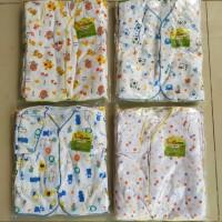12 pcs baju bayi baru lahir pendek SNI