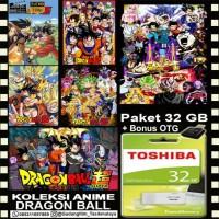 FLASHDISK TOSHIBA 32GB + FILM ANIME DRAGON BALL + OTG