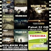 FLASHDISK TOSHIBA 32GB + FILM THE WALKING DEAD + OTG