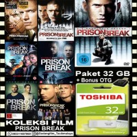 FLASHDISK TOSHIBA 32GB + FILM SERIAL PRISON BREAK + OTG