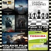 FLASHDISK TOSHIBA 32GB + FILM GAME OF THRONES + OTG